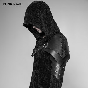 Punk Rave Asymmetric Spiked Harness