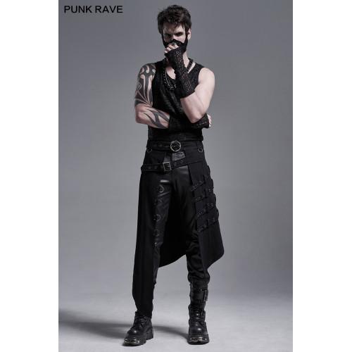 Punk Rave Asymmetric Overskirt