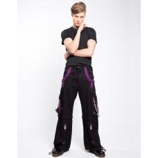 X-Pant Bondage Pants - Purple