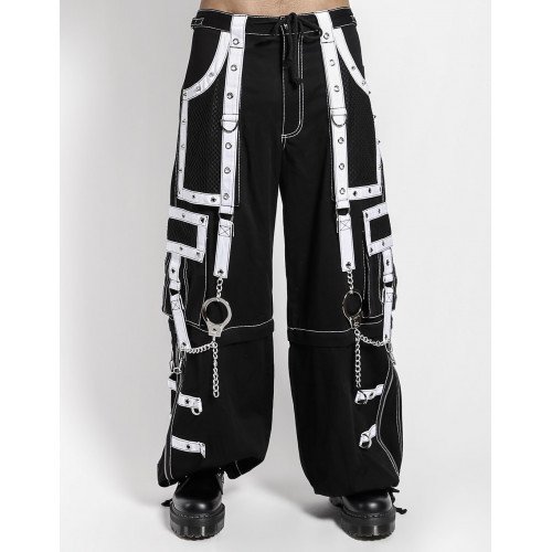 Mega Eye Pants - White