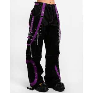 Step Chain Pants - Purple