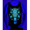 As Above So Below Unisex Tank - Blue