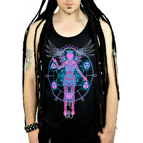 As Above So Below Unisex Tank - Pink