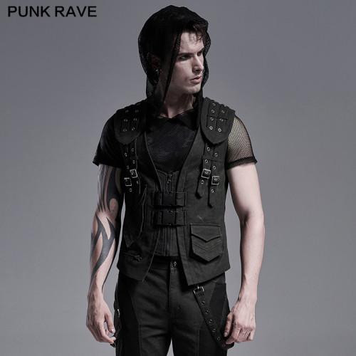 Punk Rave Field Ruins Vest