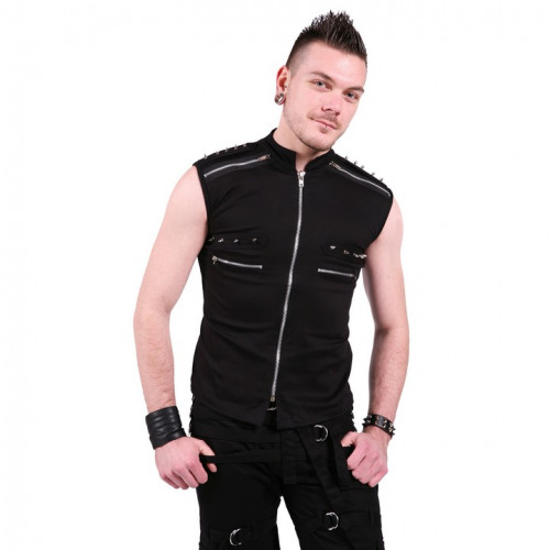 Shoulder Spiked Vest