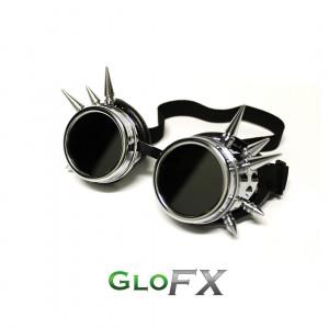 Spike Goggles - Chrome