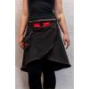 Butterfly Short Skirt - Red