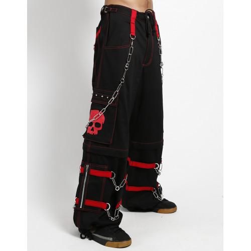 Zipoff Pants - Red