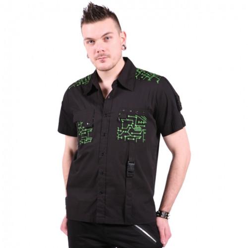 Dead Threads - Circuit Button-Down Shirt - Green