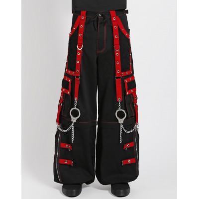 Mega Eye Pants - Red