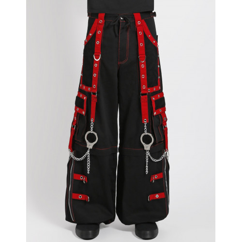 Mega Eye Pants - Red
